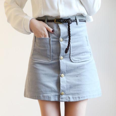 2016-fashion-spring-woman-skater-saia-faldas-font-b-skirt-b-font-with-pocket-Jupe-Vintage